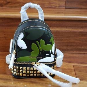 NWT Michael Kors rhea mini convertible backpack